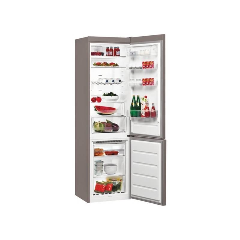 Kombinácia chladničky s mrazničkou Whirlpool BSNF 9553 OX nerez + Doprava zadarmo