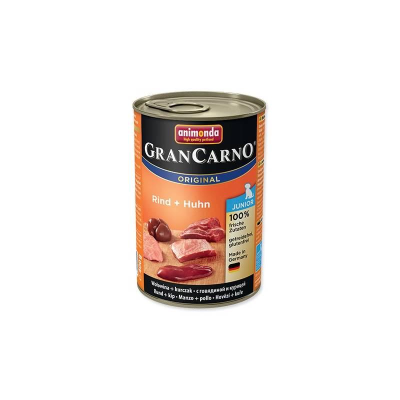 Konzerva Animonda Junior Gran Carno kuře + hovězí 400g