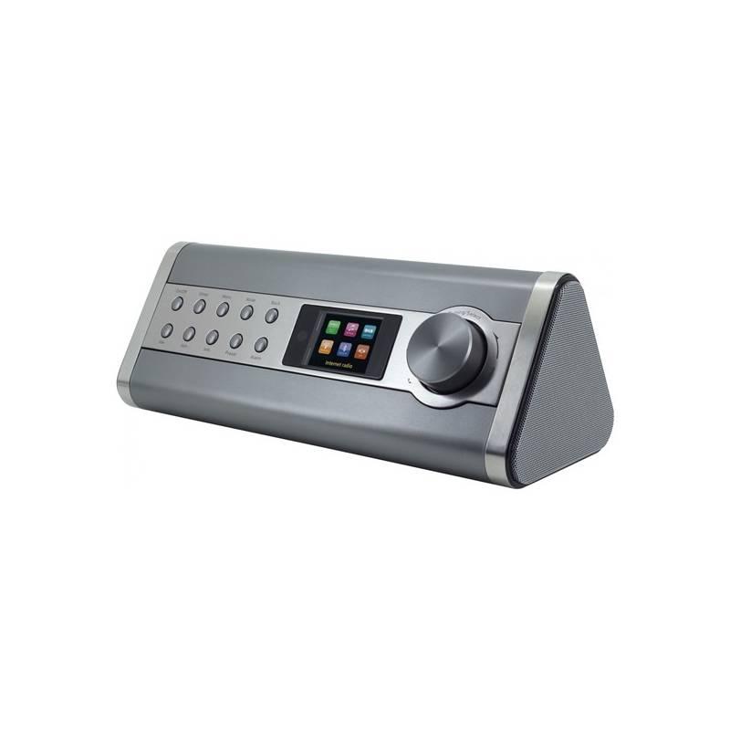 Internetový rádioprijímač Soundmaster IR3200 strieborný + Doprava zadarmo