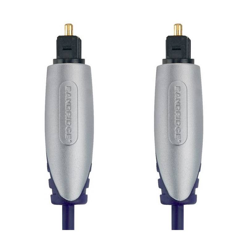 Kabel Bandridge Premium, optický, 2m, audio (BSAL5602) černý