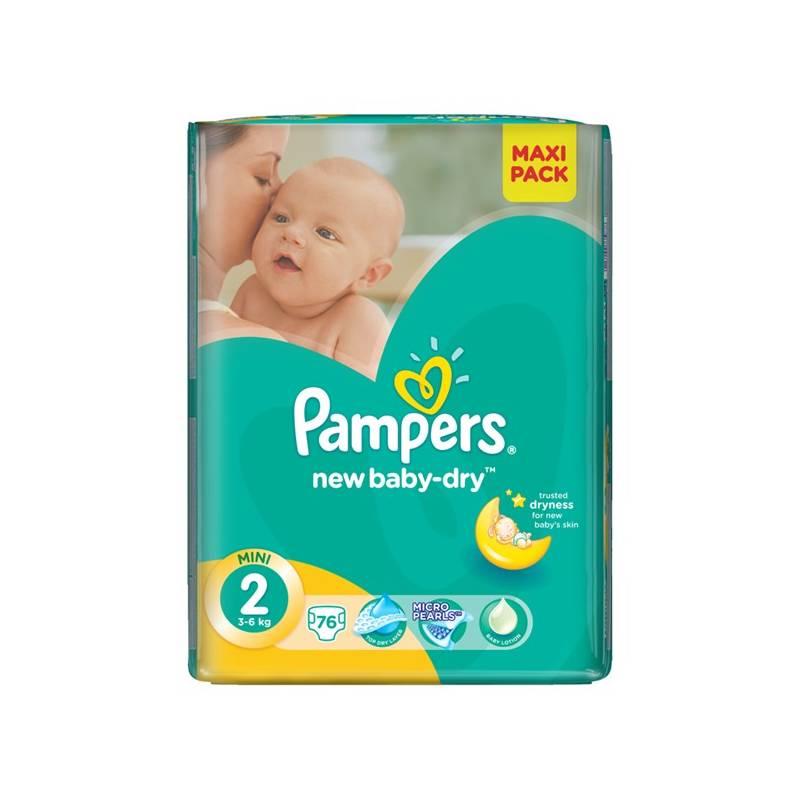 Plienky Pampers New Baby-dry Mini vel. 2, 228ks