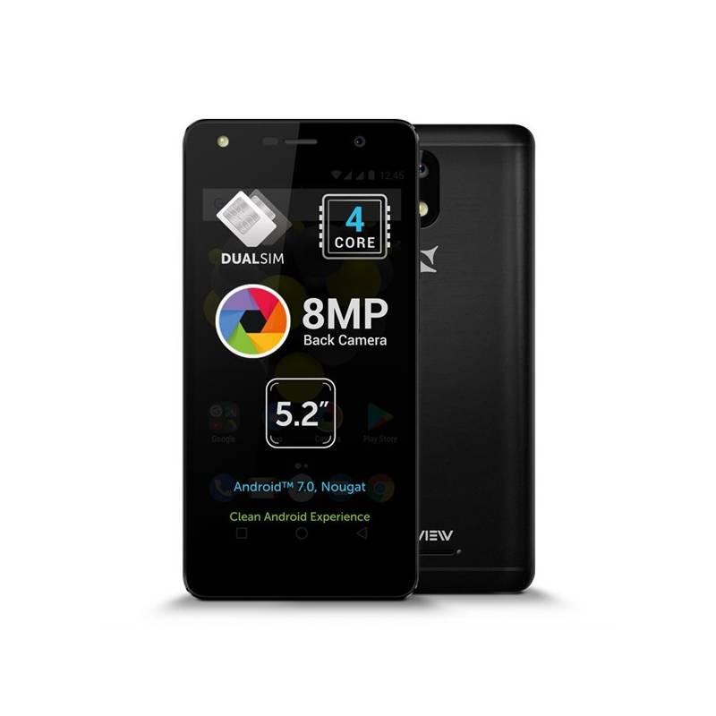 Mobilný telefón Allview A9 Lite Dual SIM čierny Software F-Secure SAFE, 3 zařízení / 6 měsíců (zdarma) + Doprava zadarmo