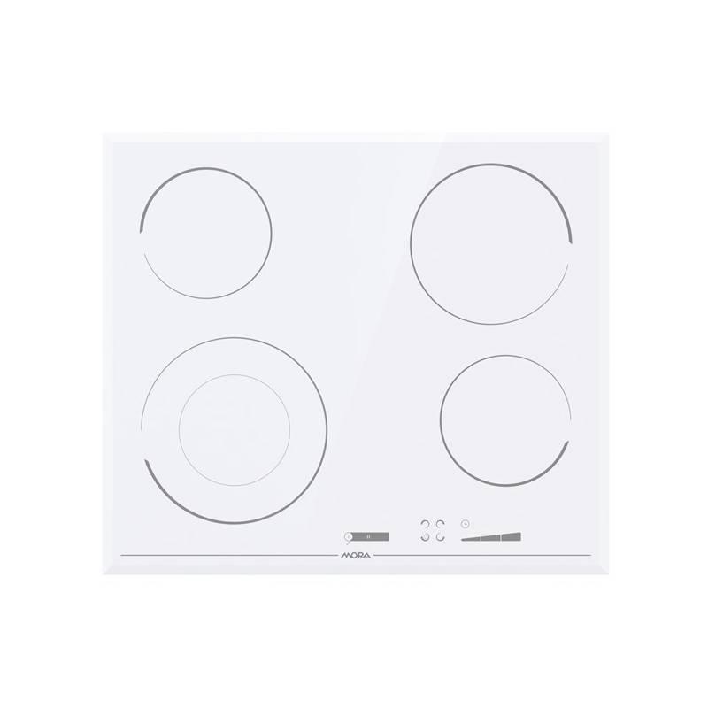 Sklokeramická varná deska Mora Premium VDSS 647 FFW bílá