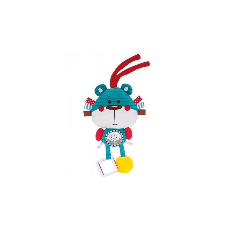 Edukačná hračka Canpol babies Forest Friends, macko - modrá + Doprava zadarmo