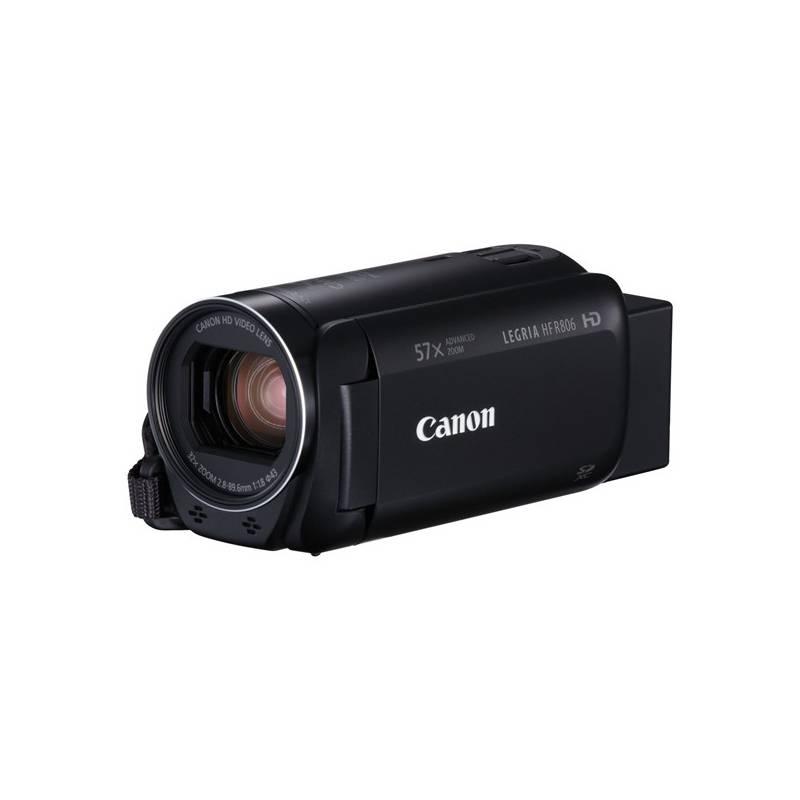 Videokamera Canon LEGRIA HF R806 Essential Kit + pouzdro + karta (1960C015) čierna Paměťová karta Kingston SDXC 64GB UHS-I U1 (90R/45W) (zdarma)
