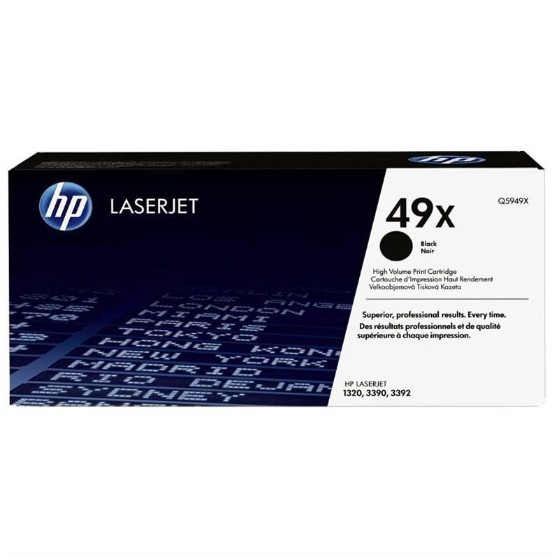 Toner HP 49X, 6000 stran (Q5949X) čierna + Doprava zadarmo