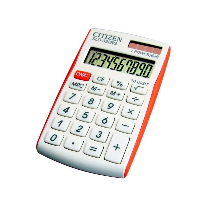 Kalkulačka Citizen SLD-322RG (SLD-322RG) biela/oranžová