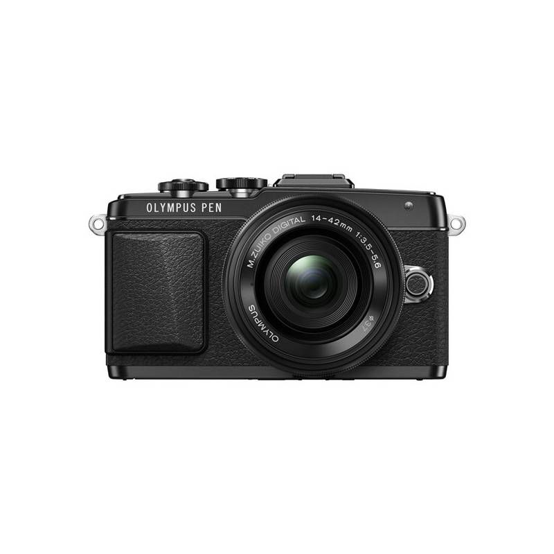 Digitálny fotoaparát Olympus PEN E-PL7 + 14-42 Pancake Zoom čierny Dalekohled Olympus 8x21 DPC-I, modrý (zdarma) + Doprava zadarmo