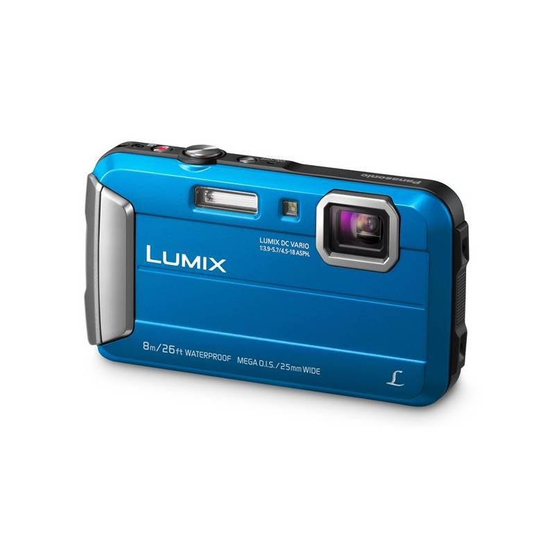 Digitálny fotoaparát Panasonic Lumix DMC-FT30EP-A modrý + Doprava zadarmo