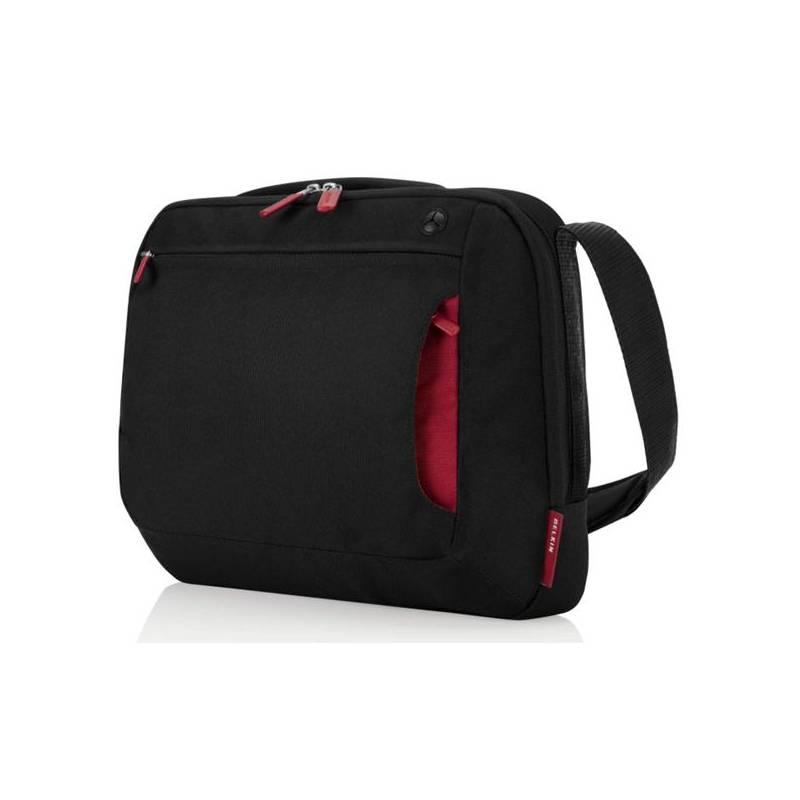 """Brašna na notebook Belkin Messenger TopLoad 15,6"""" (F8N244eaBR) čierna/červená"""