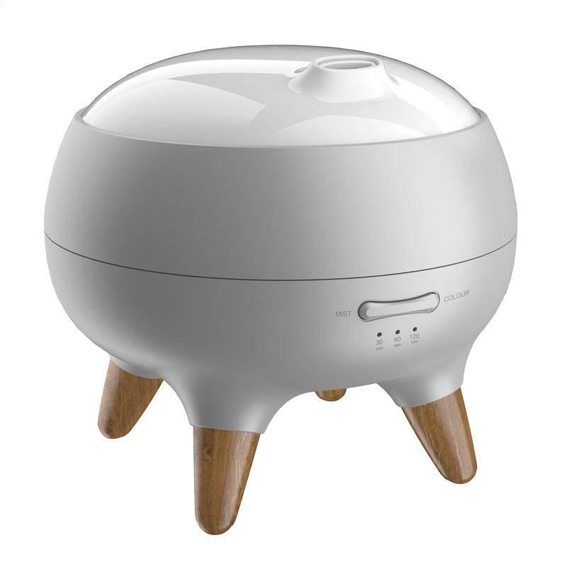 Stolná lampa PLATINET PDLU21 s aroma difuzérem biela