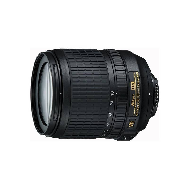Objektív Nikon NIKKOR 18-105MM F3.5-5.6G AF-S DX VR ED čierny