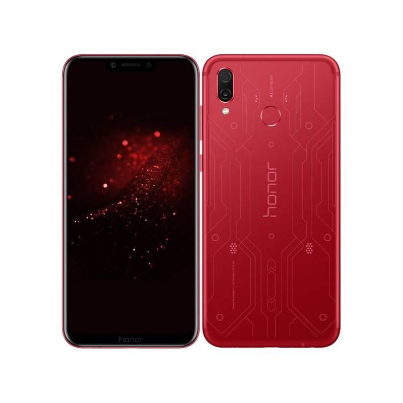 Mobilný telefón Honor Play (51092VQS) červený Software F-Secure SAFE, 3 zařízení / 6 měsíců (zdarma) + Doprava zadarmo
