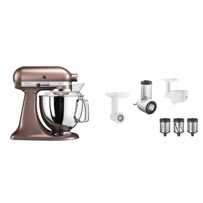 Set výrobků KitchenAid 5KSM175PSEAP + 5KSM2FPPC
