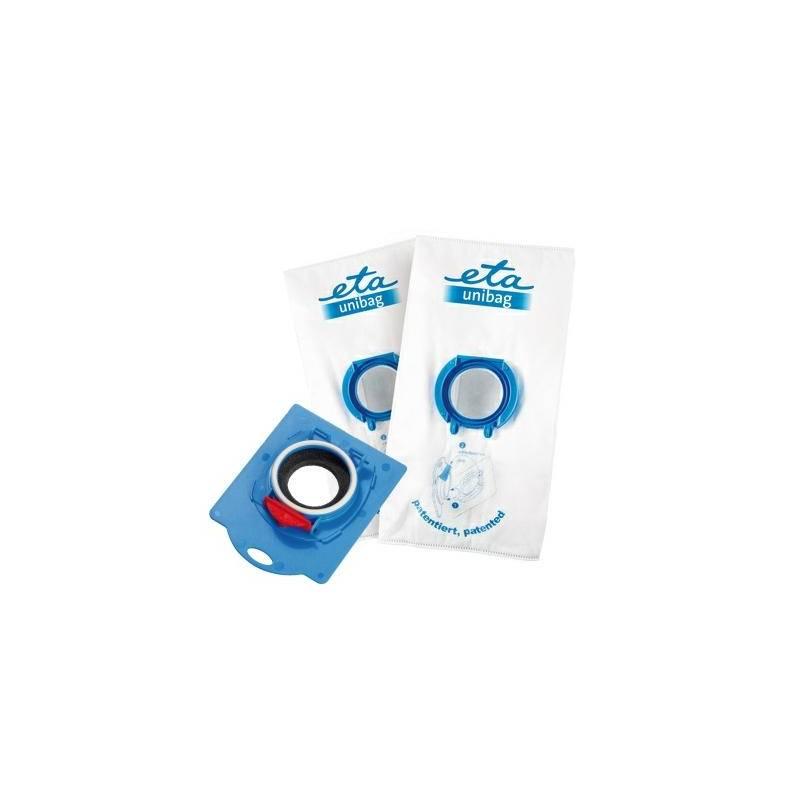 Sáčky pre vysávače ETA UNIBAG startovací set č. 5 9900 68050 - 1 x adaptér + 2 x sáček 3 l biely/modrý