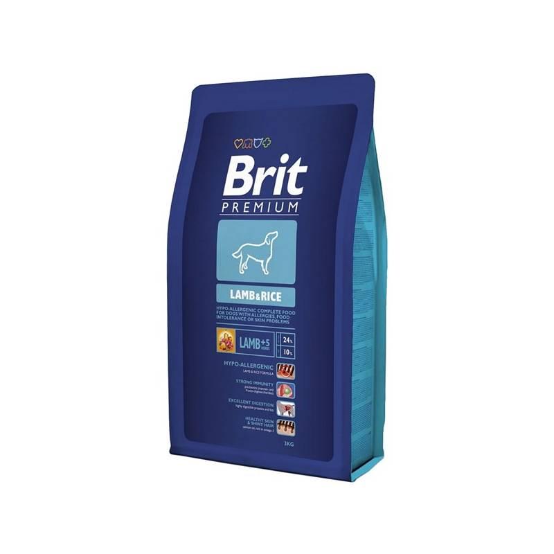 Granule Brit Premium Dog Lamb & Rice 3 kg