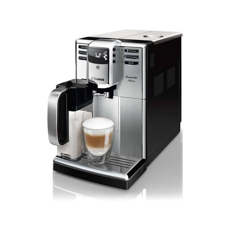 Espresso Saeco Incanto HD8921/09 čierne/nerez + Doprava zadarmo