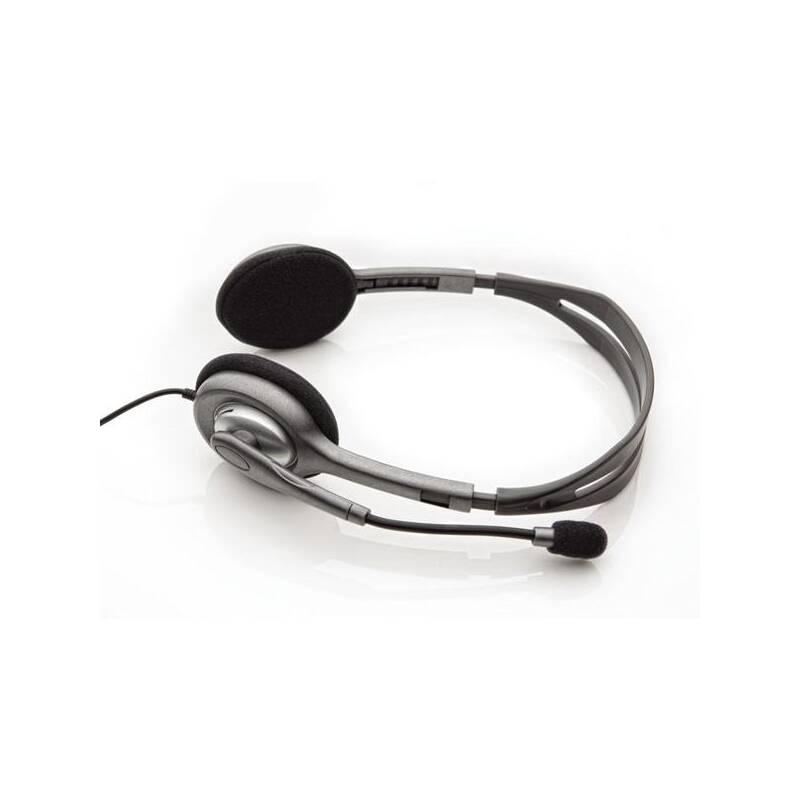Headset Logitech H110 (981-000271) čierny