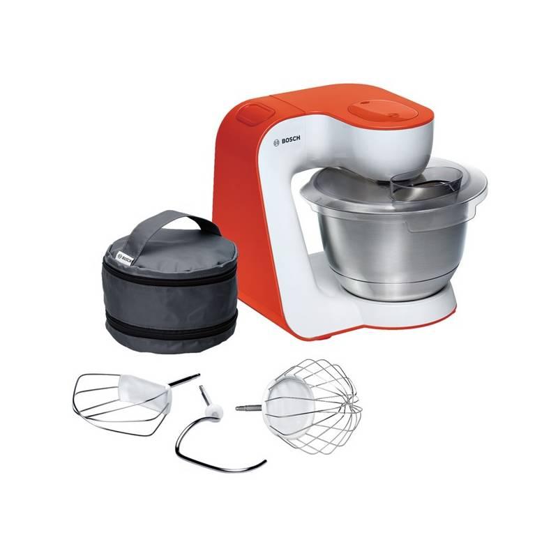 Kuchynský robot Bosch StartLine MUM54I00 biely/oranžový