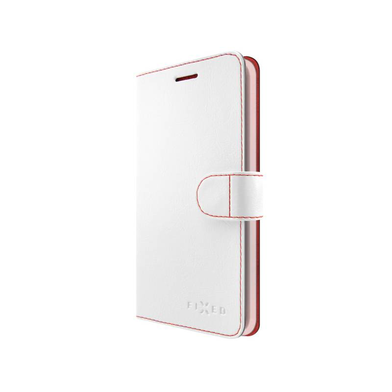 Puzdro na mobil flipové FIXED FIT pro Apple iPhone 8/7 (FIXFIT-100-WH) biele