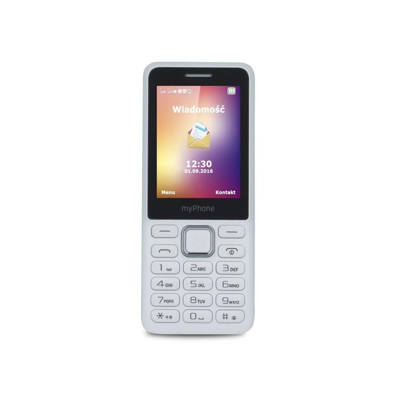 Mobilný telefón myPhone 6310 Dual SIM (TELMY6310WH) biely