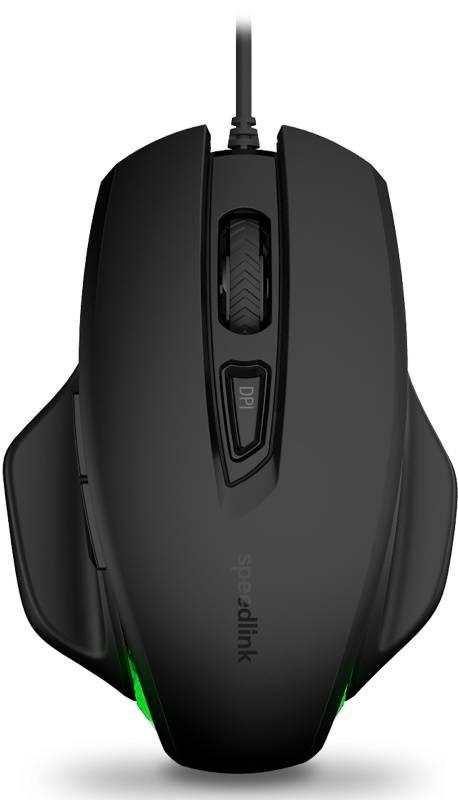 Myš Speed Link Garrido Illuminated (SL-610006-BK) černá