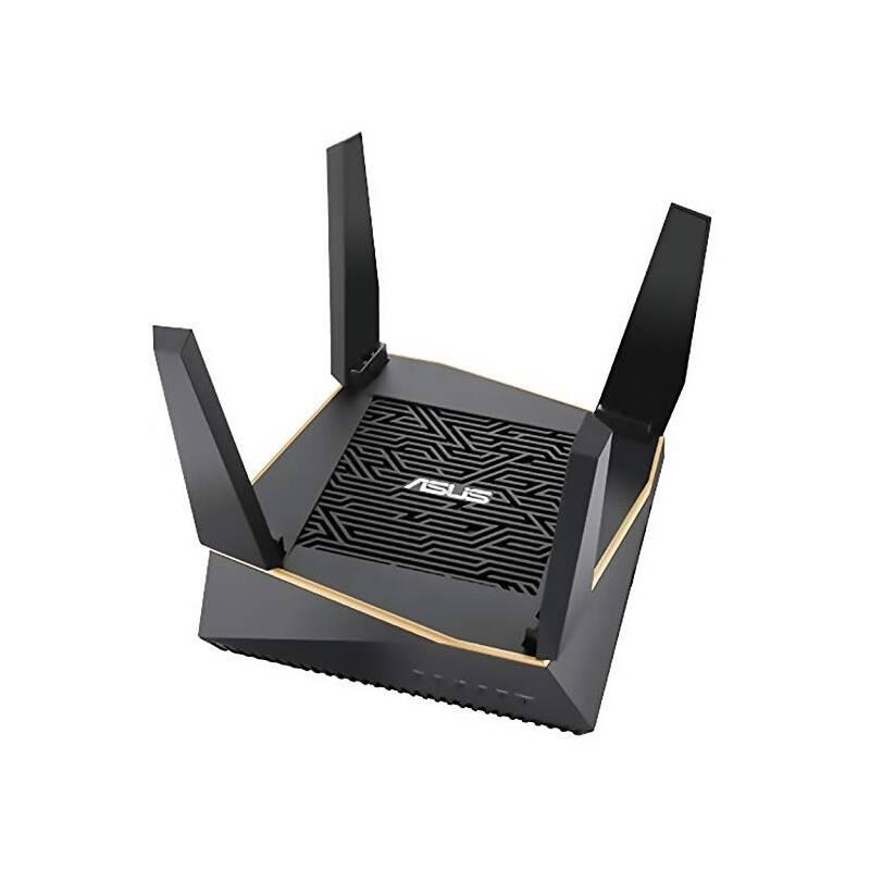 Router Asus RT-AX92U - AX6100 třípásmový Aimesh router (90IG04P0-MO3010)