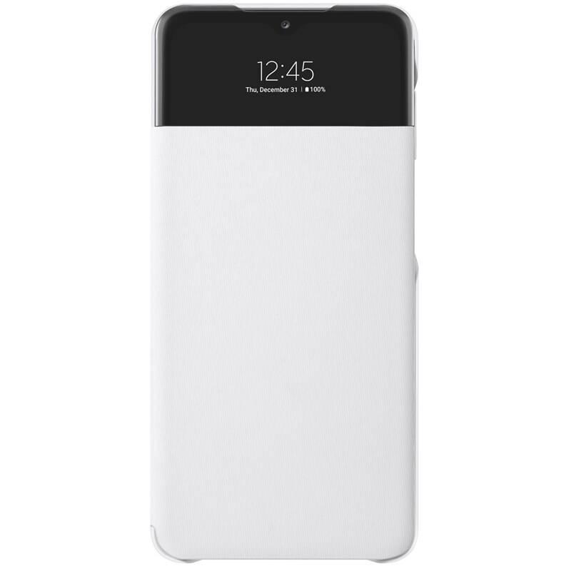 Púzdro na mobil flipové Samsung S View Wallet Cover na Galaxy A32 5G (EF-EA326PWEGEE) biele