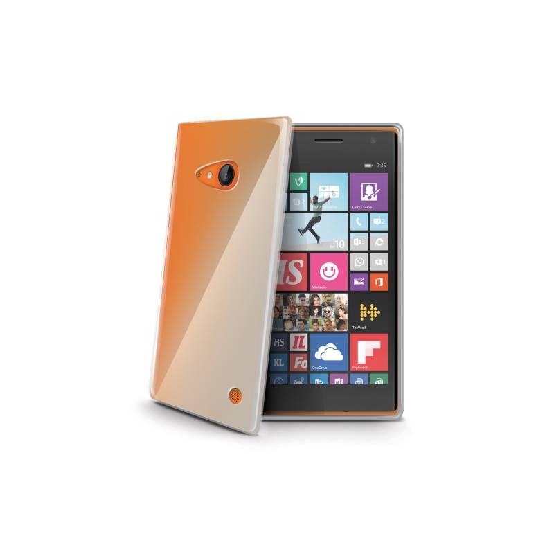 Kryt na mobil Celly Gelskin pro Nokia Lumia 735 (GELSKIN438) priehľadný