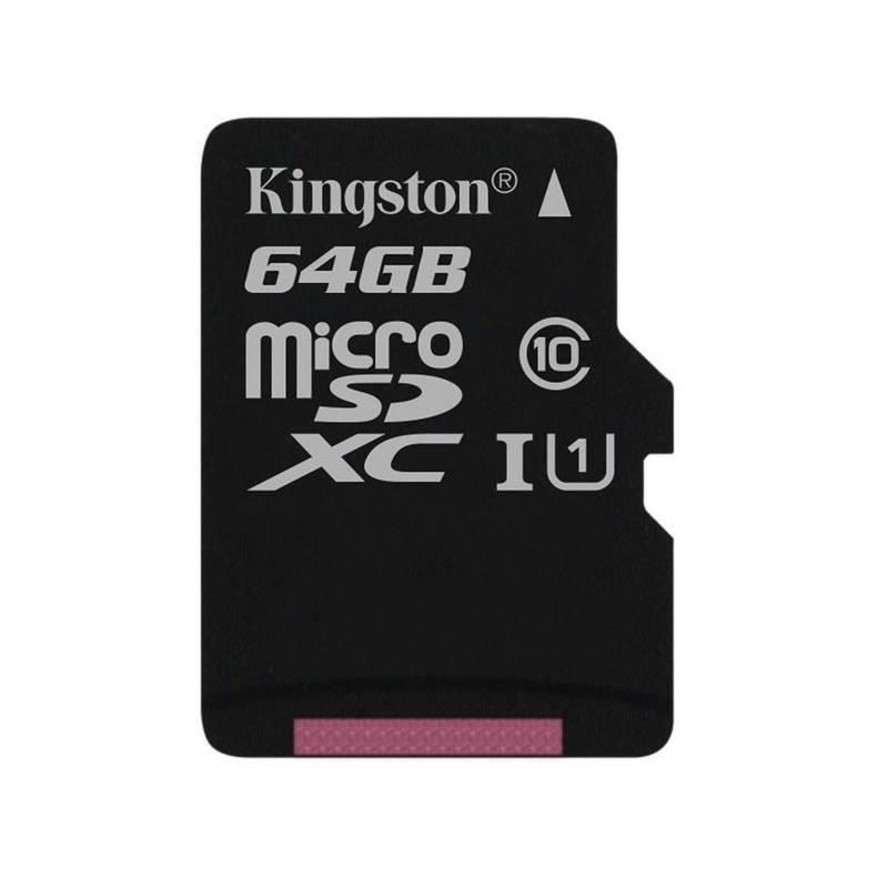 Pamäťová karta Kingston MicroSDXC 64GB UHS-I U1 (45R/10W) (SDC10G2/64GBSP)