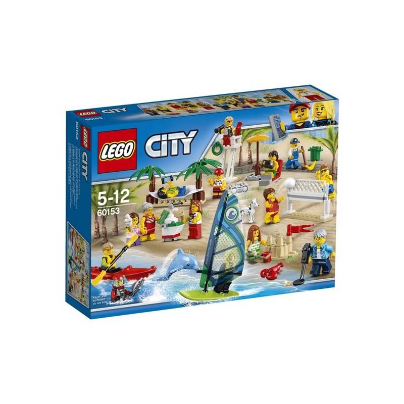 Stavebnica LEGO® CITY® Town 60153 Sada postav - Zábava na pláži + Doprava zadarmo
