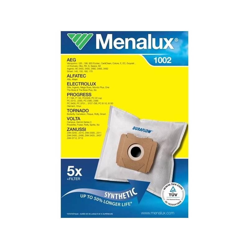 Sáčky pre vysávače Menalux 1002