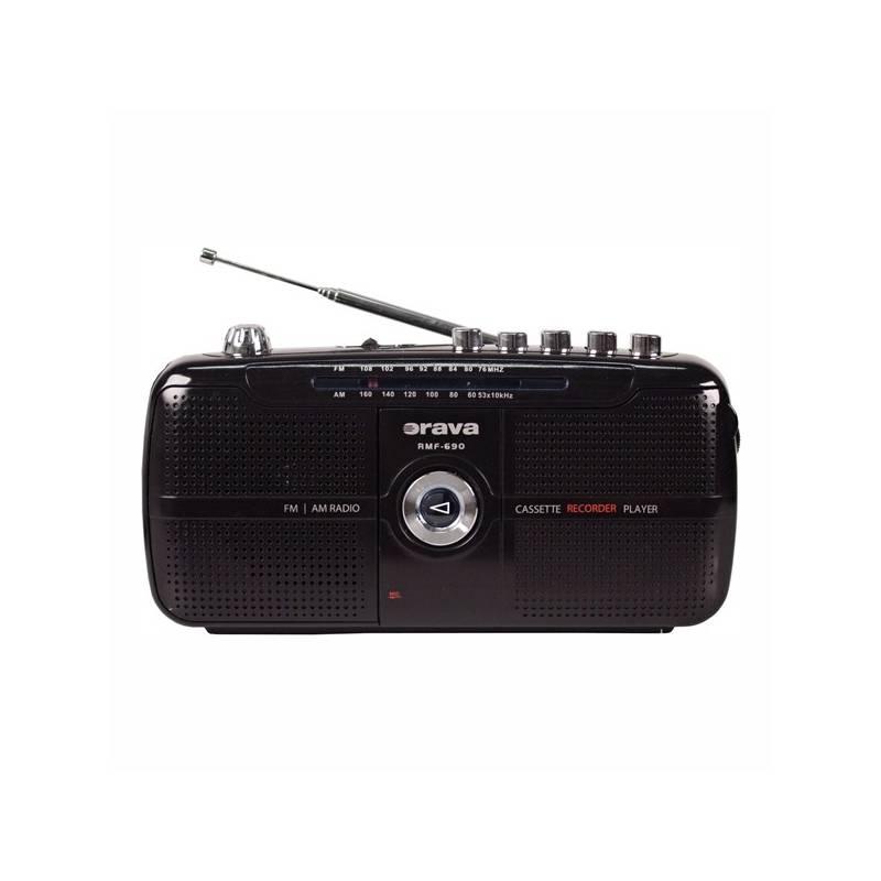 Rádiomagnetofón Orava SK RMF-690 čierny