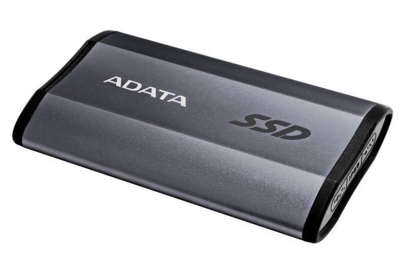 SSD externý ADATA ASE730 512GB (ASE730H-512GU31-CTI) Titanium