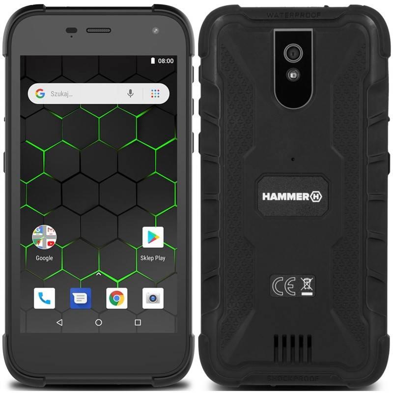 Mobilní telefon myPhone Hammer Active 2 (TELMYAHACTIVE23GBK) černý