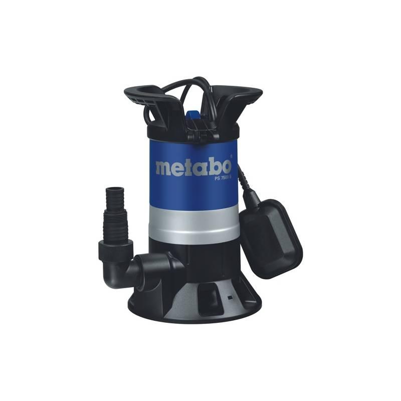 Čerpadlo kalové Metabo PS 7500 S, pro odpadní vody čierne/modré