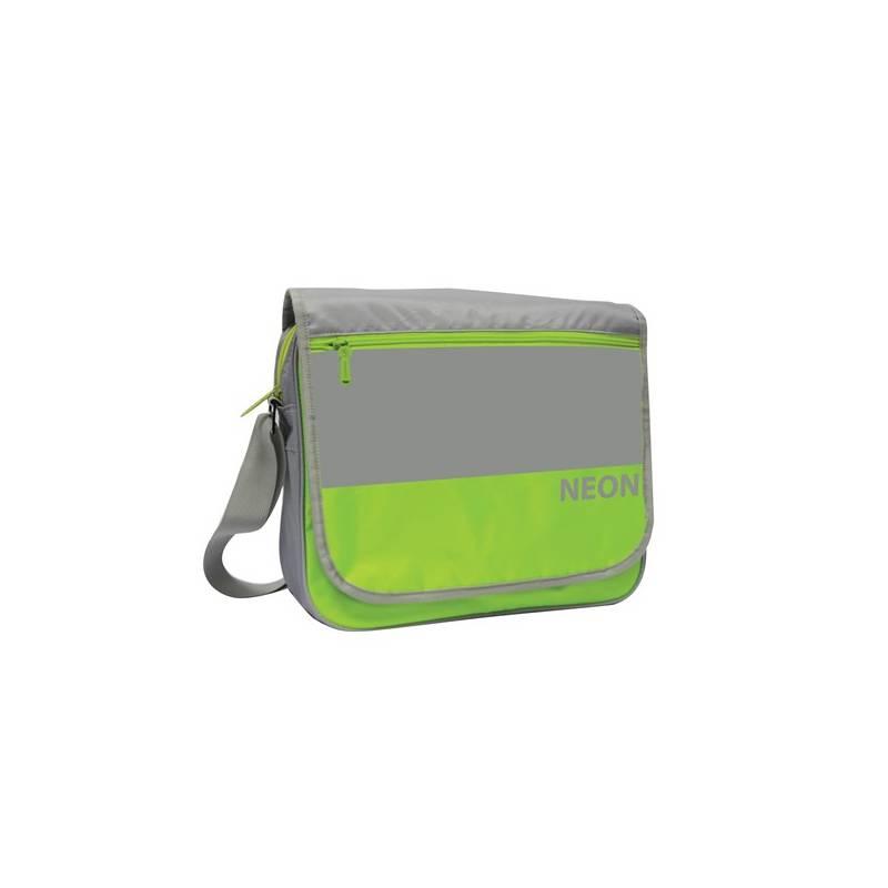 Taška cez rameno P + P Karton Neon Green + Doprava zadarmo