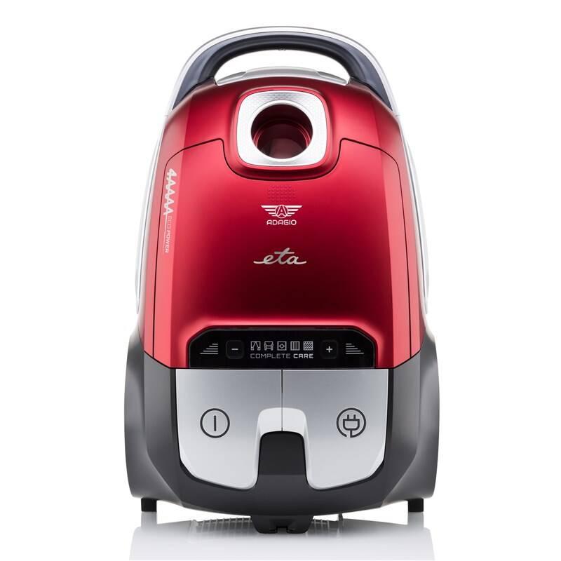Podlahový vysávač ETA Adagio 3511 90000 červený + Doprava zadarmo