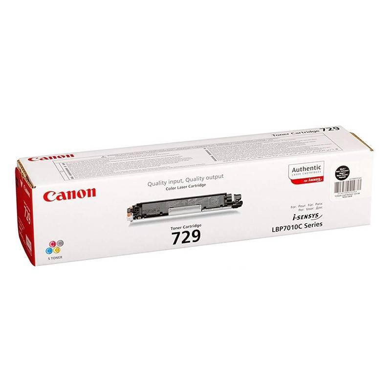 Toner Canon CRG-729Bk, 1,2K stran - originální (4370B002) čierny