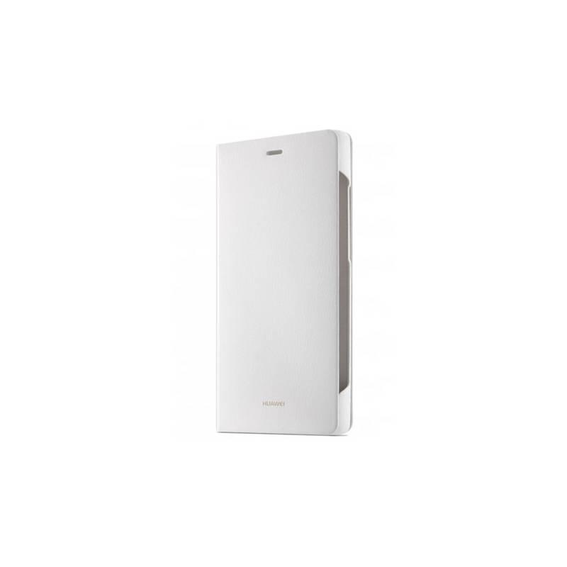 Puzdro na mobil flipové Huawei pro P8 Lite (51990918) biele