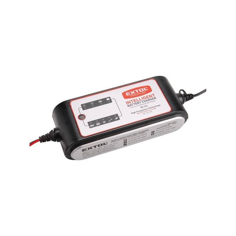 Nabíjačka autobatérií EXTOL Premium 8 A