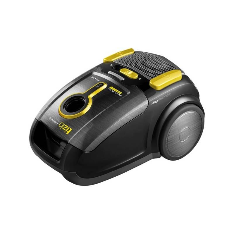 Vysavač podlahový Sencor SVC 8YL-EUE2 černý/žlutý
