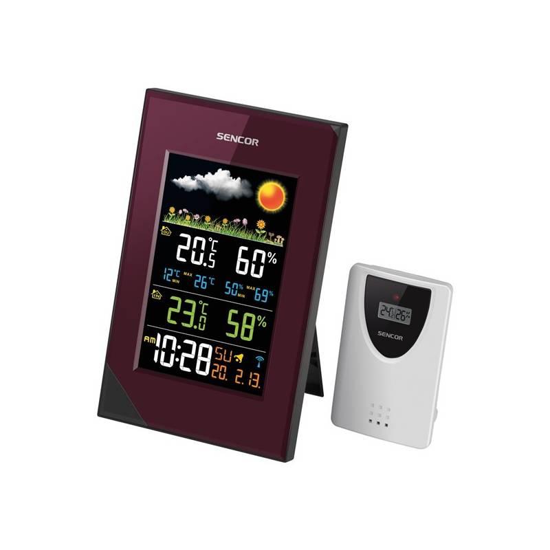 Meteorologická stanica Sencor SWS 280 (35046671) fialová