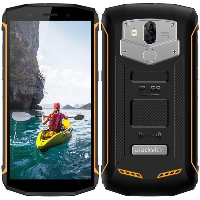 Mobilný telefón iGET Blackview GBV5800 (84000437) čierny/žltý Software F-Secure SAFE, 3 zařízení / 6 měsíců (zdarma)