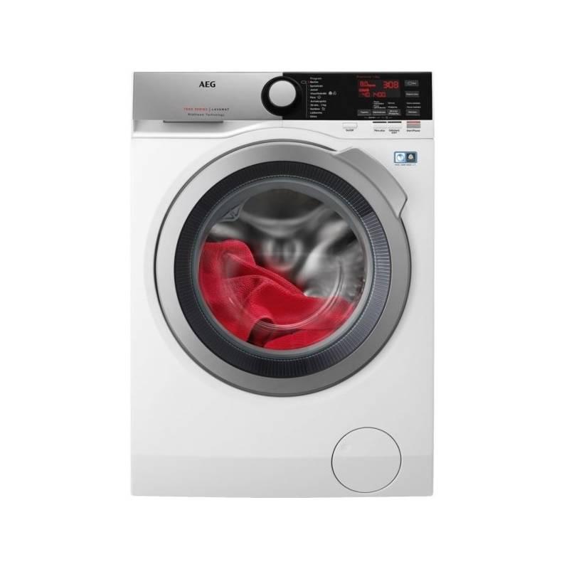 Automatická práčka AEG ProSteam® L7FEE68SC biela + Cashback 80 € + Doprava zadarmo