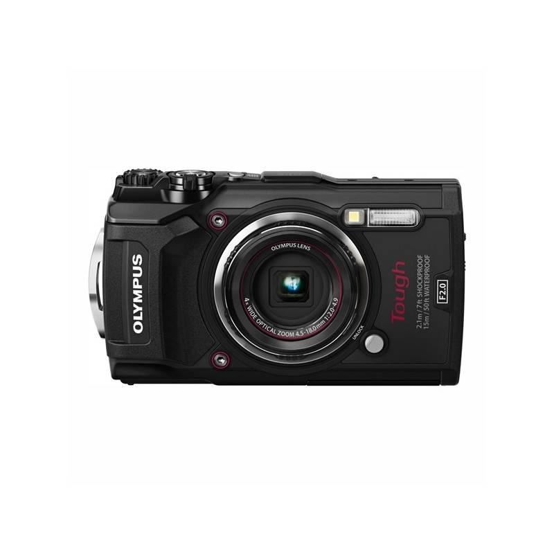 Digitálny fotoaparát Olympus TG-5 (4545350051099) čierny + Doprava zadarmo