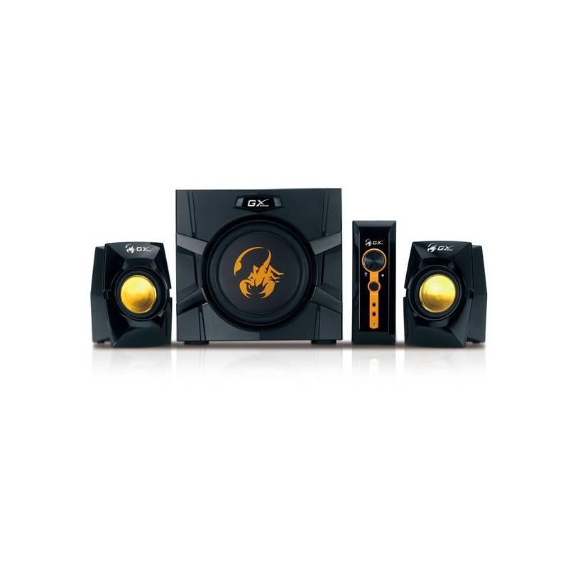 Reproduktory Genius GX Gaming SW-G2.1 3000 (31731016100) čierna/žltá