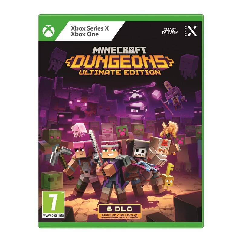 Hra Microsoft Xbox One Minecraft Dungeons Ultimate Edition (KBI-00019)