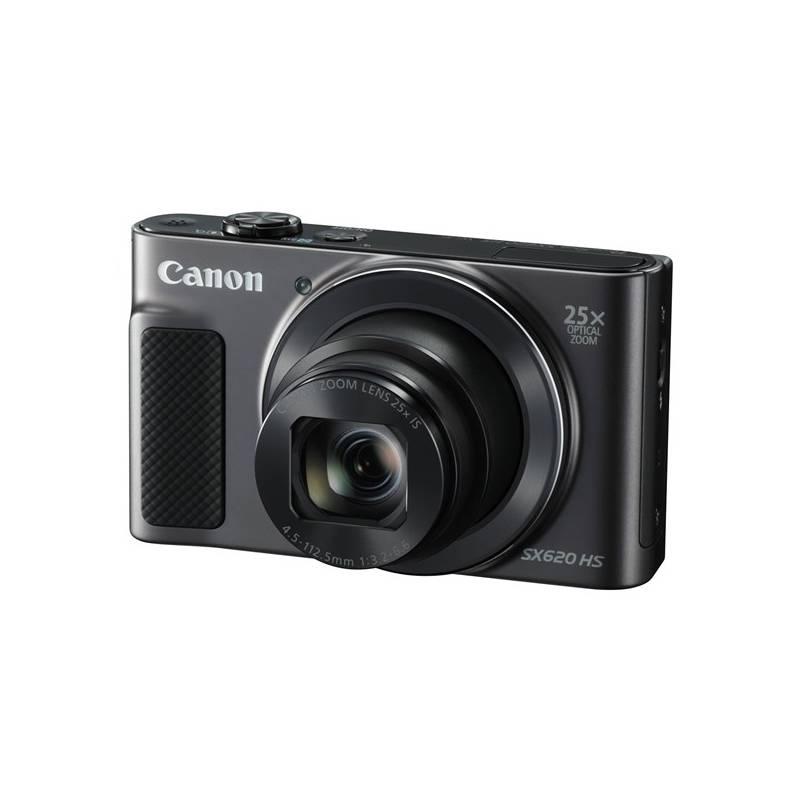 Digitálny fotoaparát Canon PowerShot SX620 HS (1072C002) čierny Pouzdro foto Canon DCC-1500 (zdarma) + Doprava zadarmo