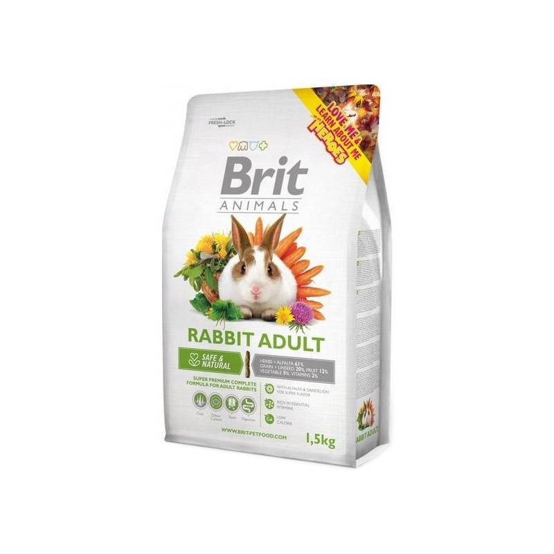 Krmivo Brit Animals Rabbit Adult Complete 3kg